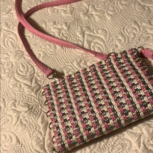 Pink purse hand made in Mexico